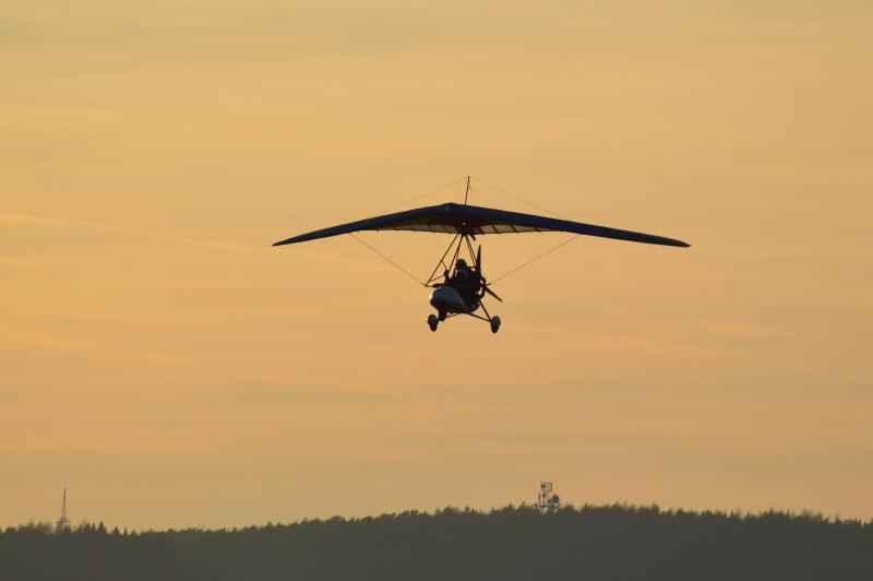 Pilotem motorového rogala na zkoušku - dárek