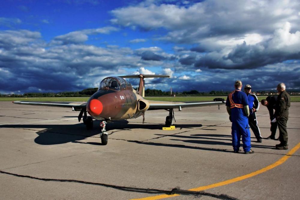 Exkluzivní let ve stíhačce L-29 - poukaz na zážitek