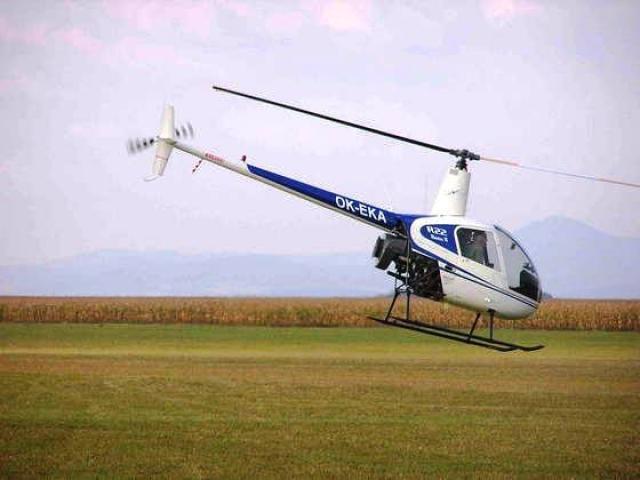 Lety vrtulníkem - poukaz na zážitek