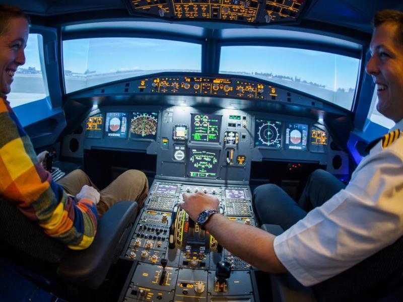 Letecký simulátor Airbus A320 - dárkový poukaz