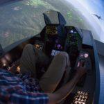 Letecký simulátor stíhačky F16 - dárkový poukaz na zážitek