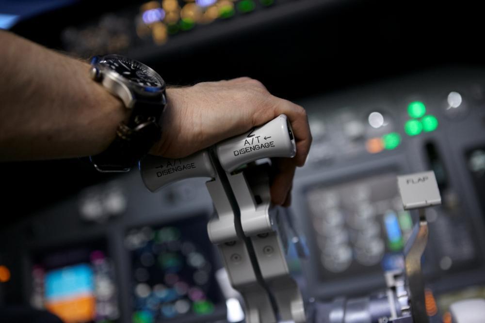 Pilotování simulátoru Boeing 737 jako dárek - certifikát