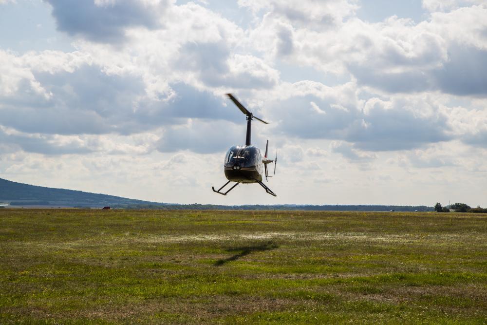 Lety vrtulníkem - dárek