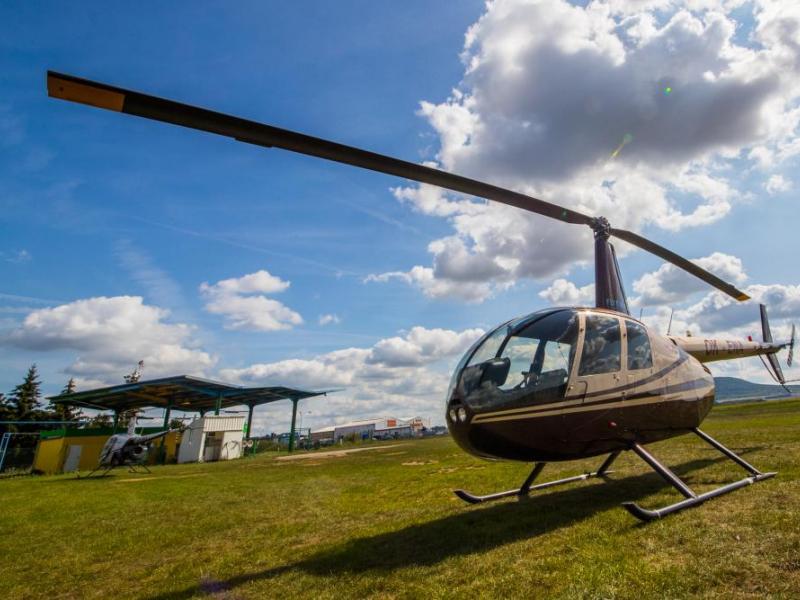 Lety vrtulníkem - dárkový poukaz