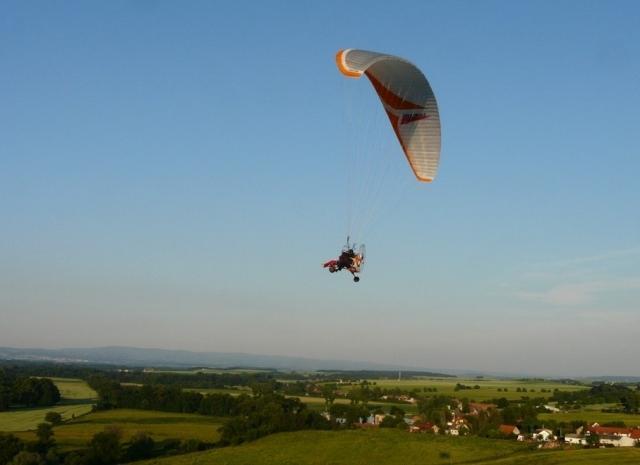 Motorový paragliding - dárek