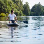 Paddleboarding- nafukovací prkno na vodu - dárkový poukaz na zážitek