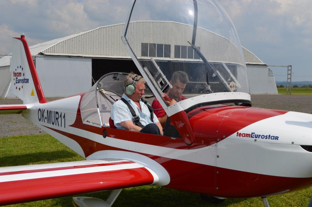 Pilotem ultralehkého letadla na zkoušku - dárek