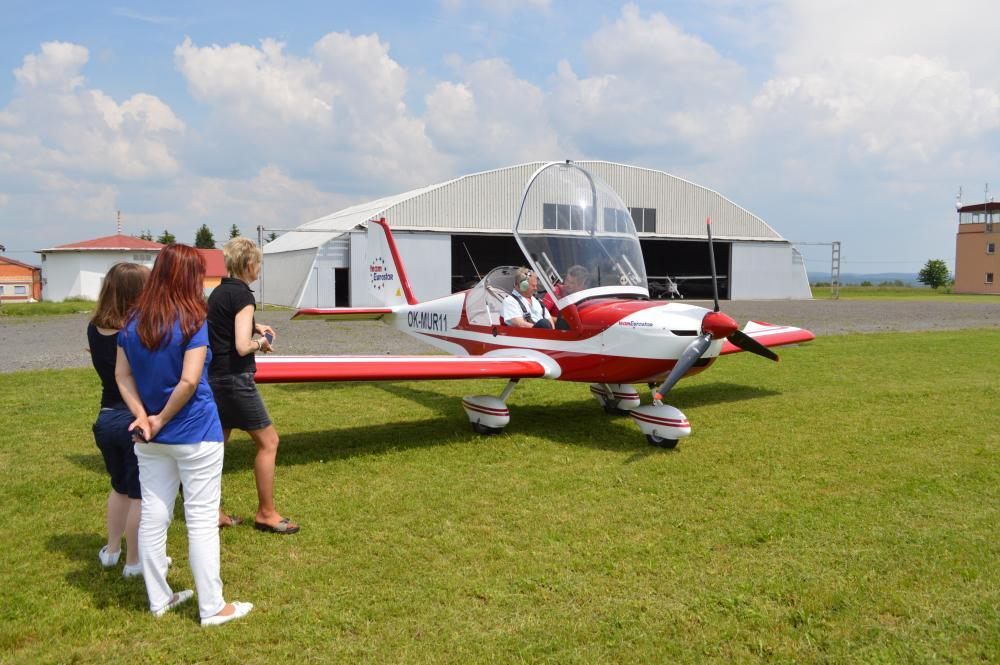 Pilotem ultralehkého letadla na zkoušku - certifikát