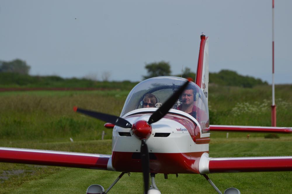 Pilotem ultralehkého letadla na zkoušku - poukaz na zážitek