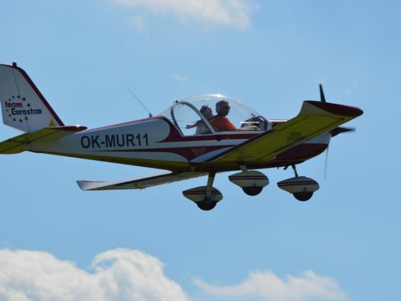 Pilotem ultralehkého letadla na zkoušku - dárkový poukaz