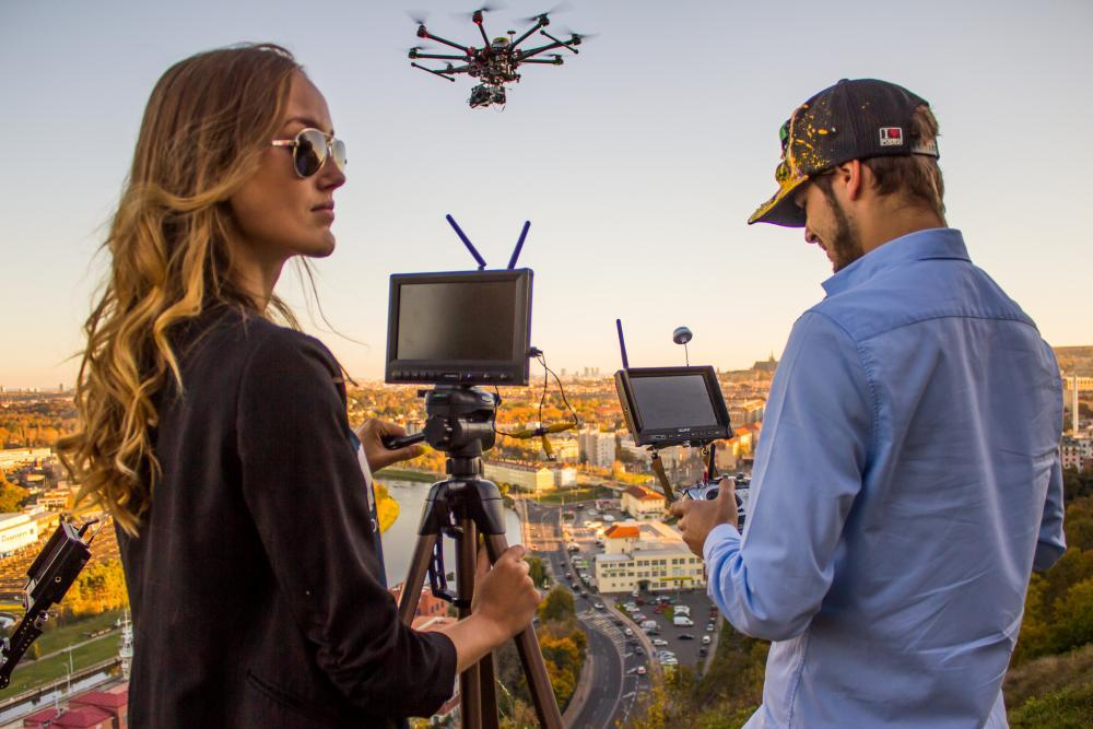 Pronájem dronu - certifikát