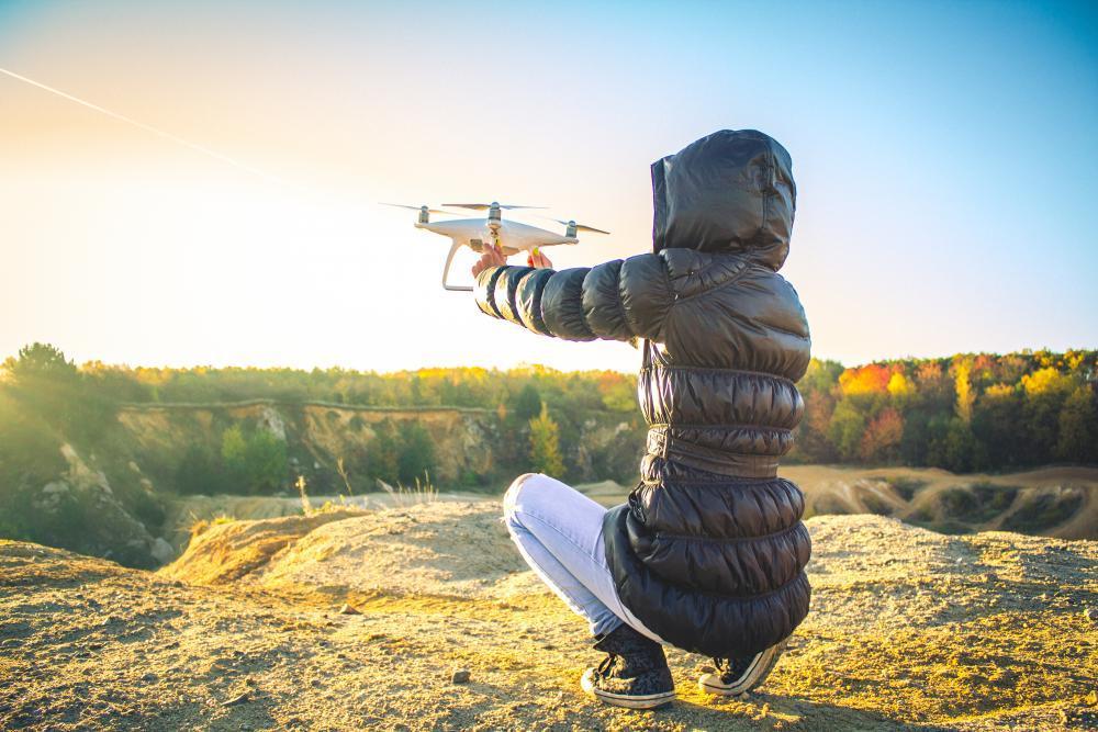 Pronájem dronu - poukaz na zážitek