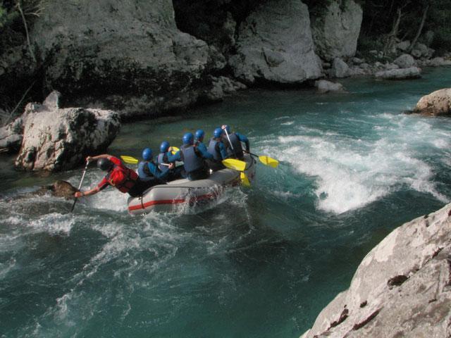 Rafting - certifikát