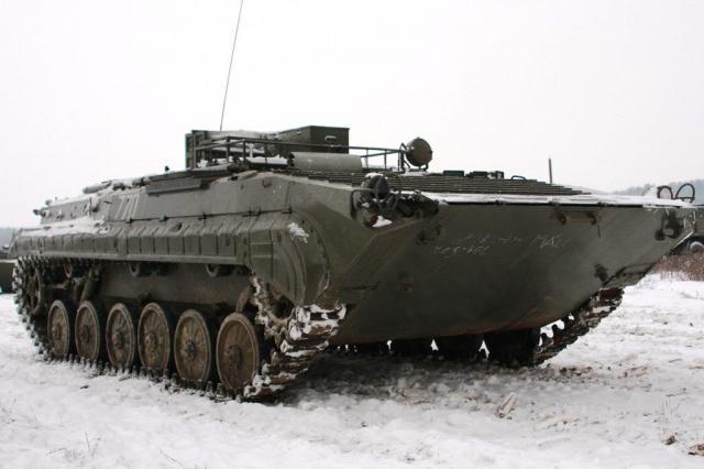 Řízení bojového vozu BVP - certifikát