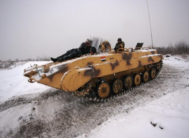 Řízení bojového vozu BVP - dárek