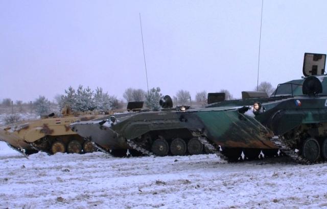 Řízení bojového vozu BVP - poukaz na zážitek