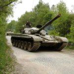 Bojový tank T-55 nebo T-72 - dárkový poukaz na zážitek