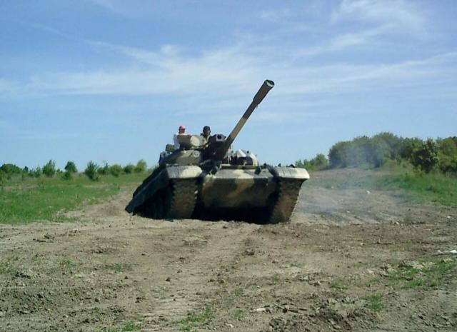 Bojový tank T-55 nebo T-72 - certifikát
