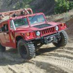 Řízení legendárního vozu Humvee - poukaz, certifikát