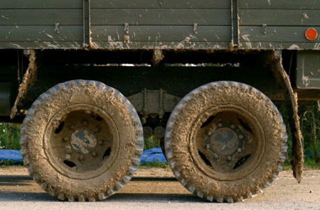 Řízení náklaďáku - dárek