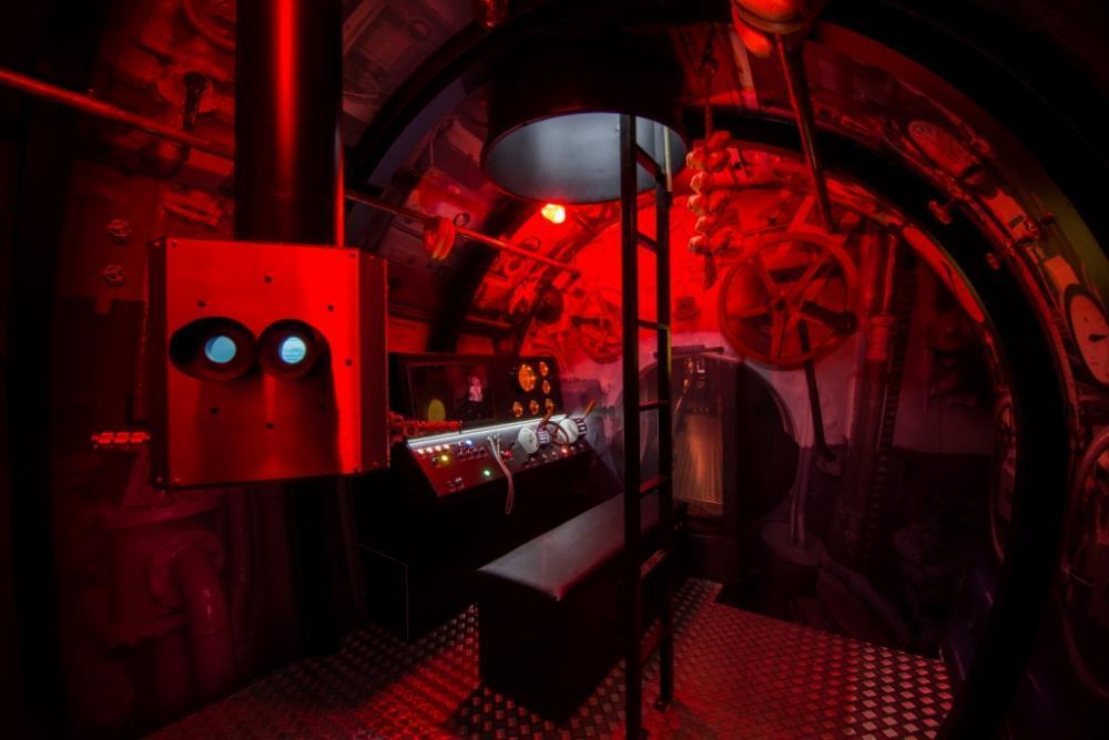 Simulátor ponorky U-BOAT - poukaz na zážitek