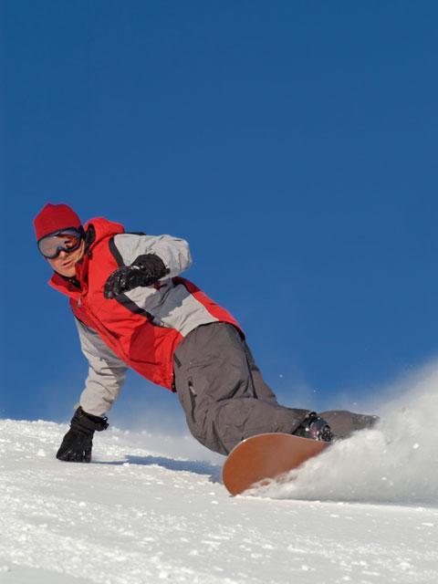 Snowboardová škola - certifikát