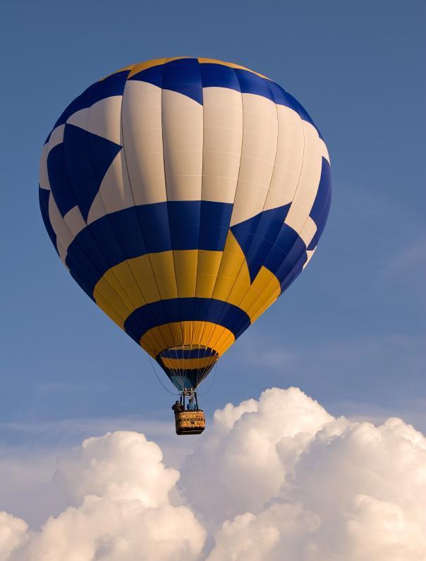 Soukromý let balónem - certifikát