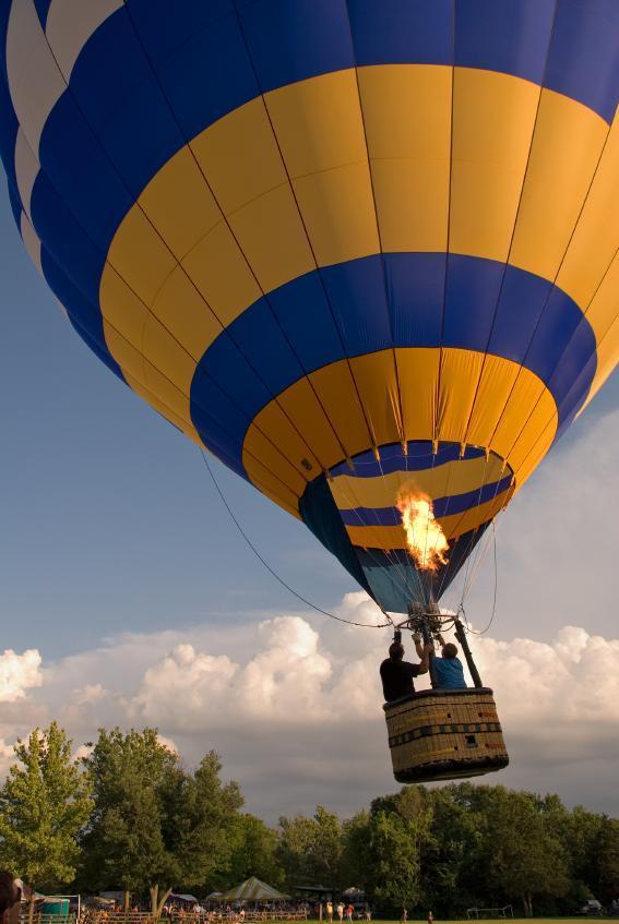 Soukromý let balónem - poukaz na zážitek
