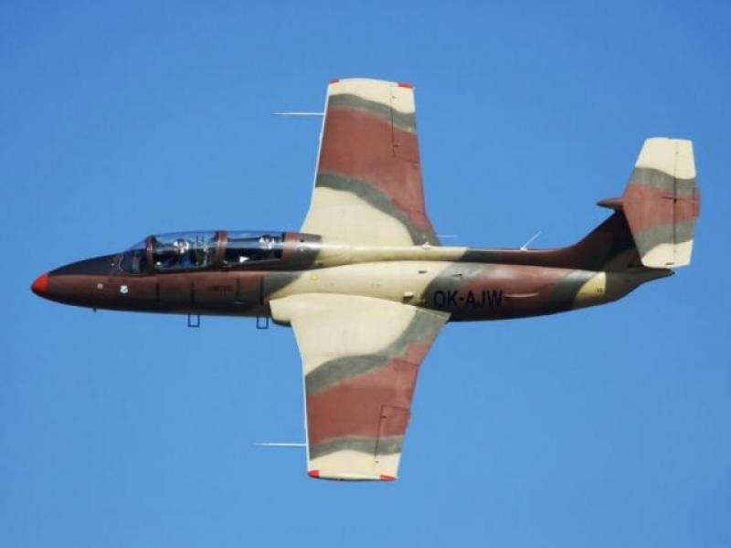Exkluzivní let ve stíhačce L-29 - dárkový poukaz