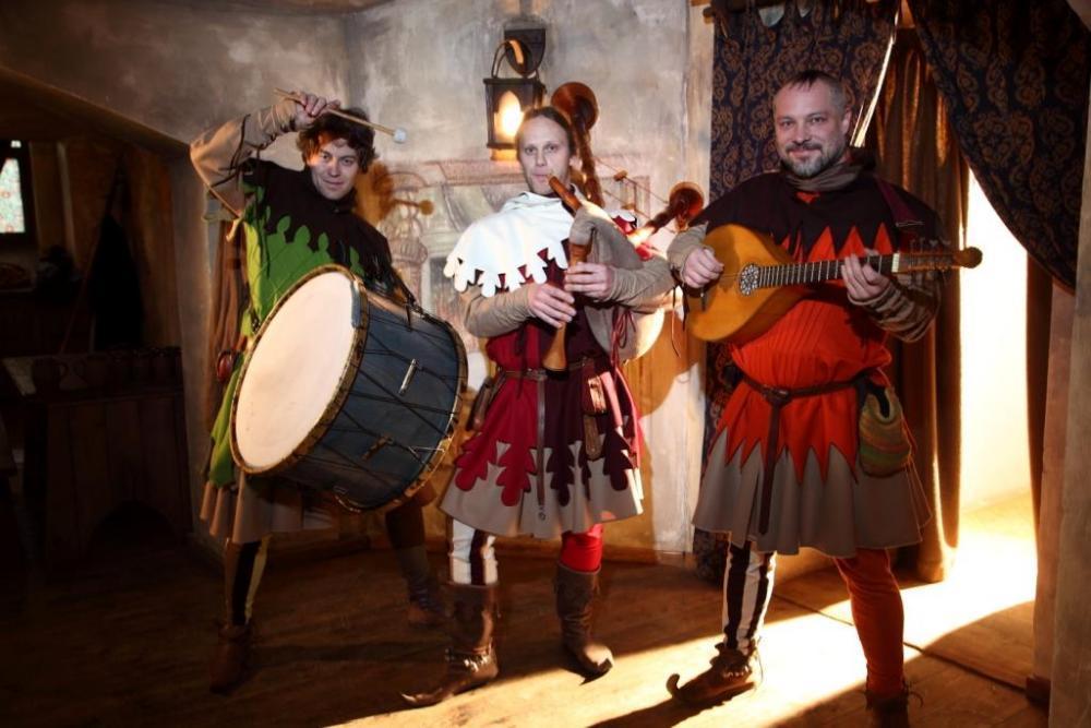 Středověká hostina - certifikát