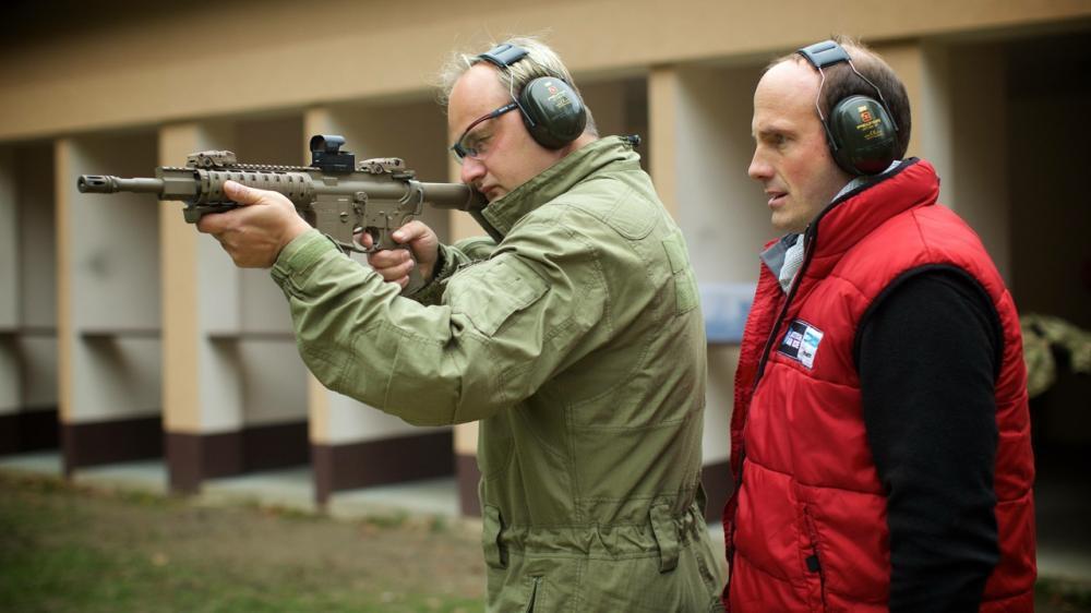 Střelba na venkovní střelnici - dárek