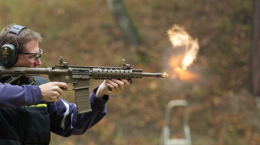 Střelba na venkovní střelnici - poukaz na zážitek