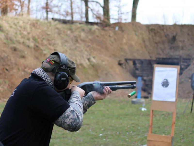 Střelba na venkovní střelnici - dárkový poukaz