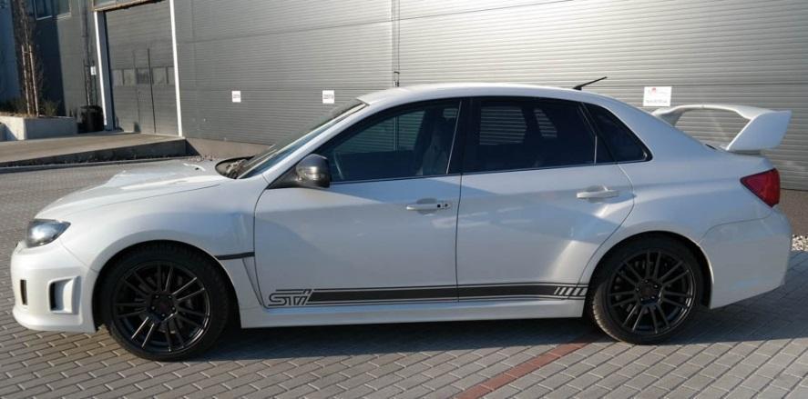 Subaru Impreza WRX STI - certifikát