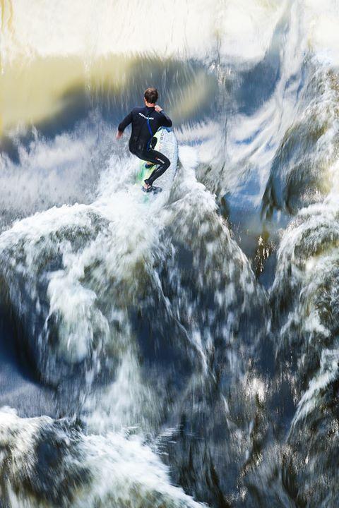 Surfing na řece - dárek