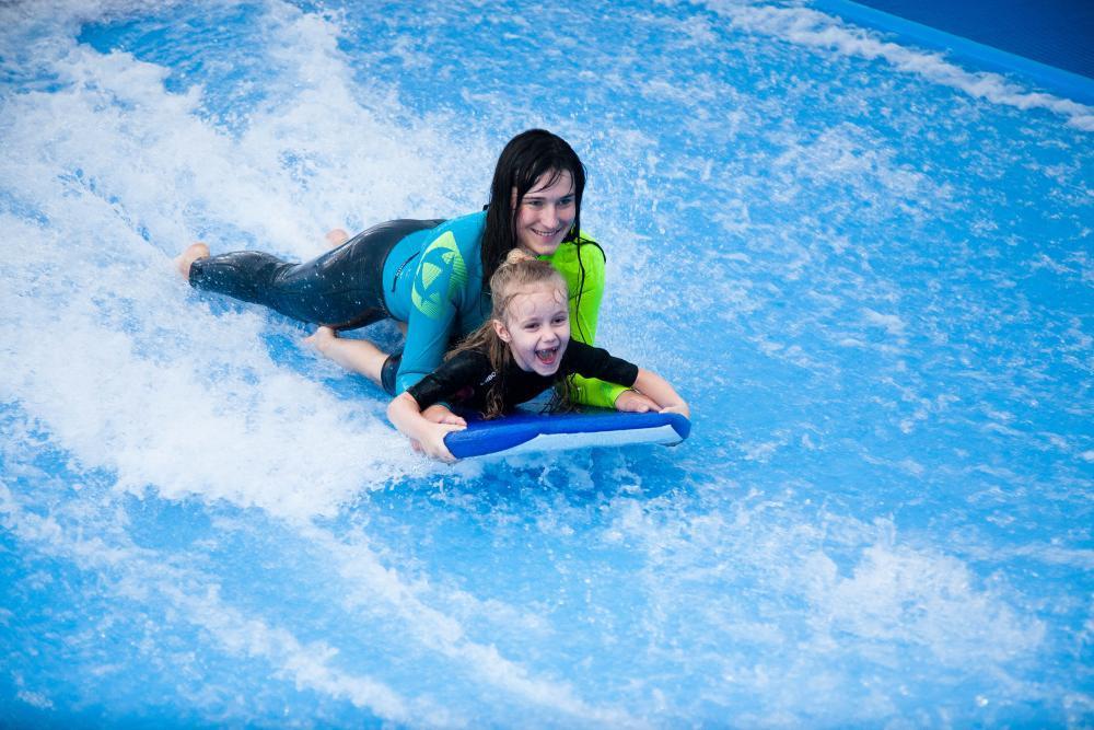 Indoor surfing - poukaz na zážitek