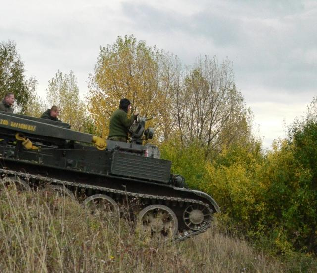 Jízda v tanku VT 55 - certifikát