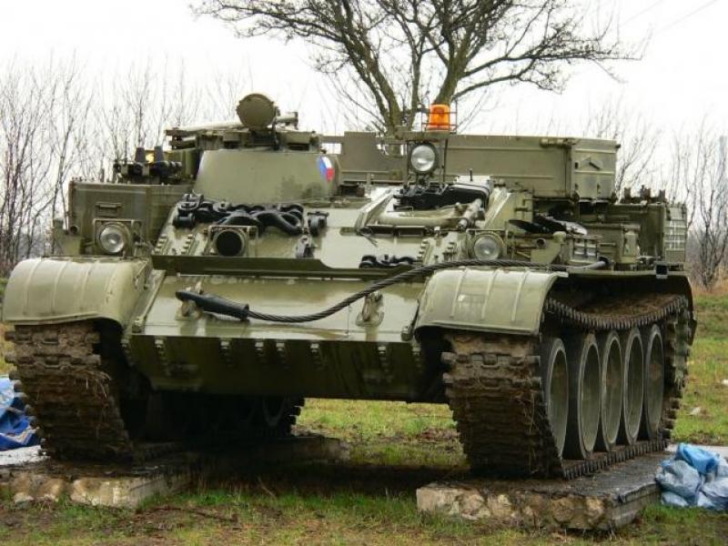 Jízda v tanku VT 55 - dárkový poukaz