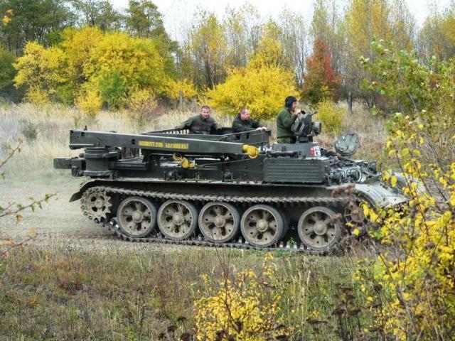 Jízda v tanku VT 55 - dárek