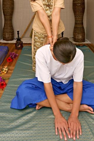 Tradiční thajská masáž THAI - certifikát