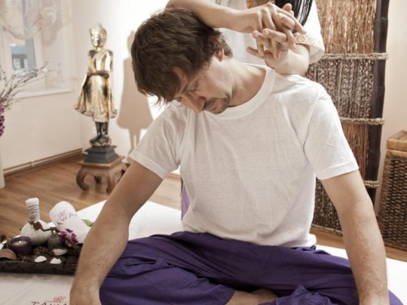 Tradiční thajská masáž THAI - dárkový poukaz