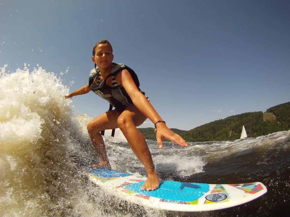 Wakesurfing - dárek