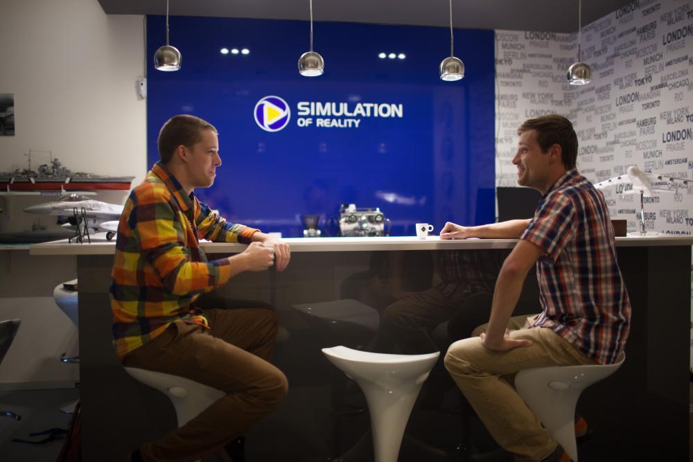 Závodní simulátor Formule 1 - dárek