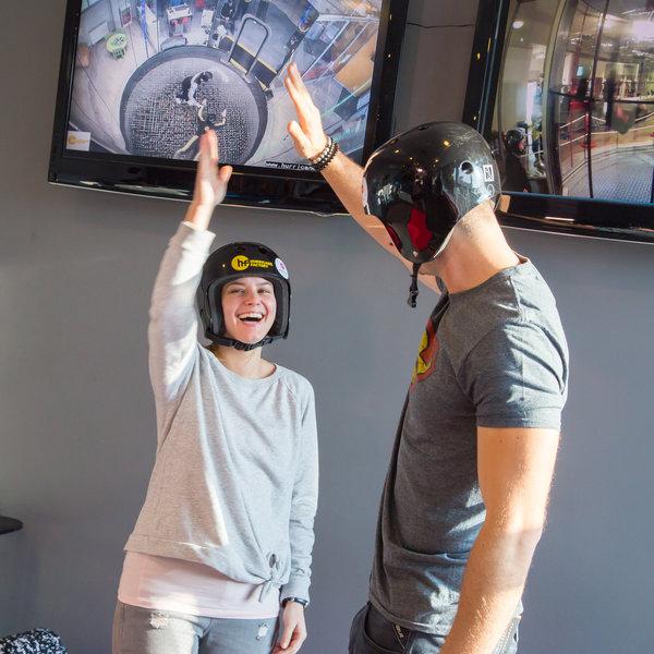 Větrný tunel VR (létání ve virtuální realitě) - certifikát