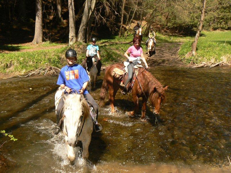 Vyjížďka na koni - poukaz na zážitek